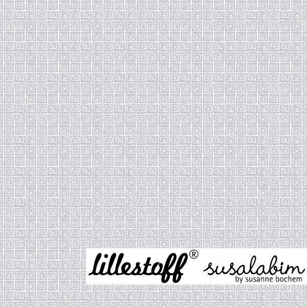 Fabrics/Designers/SUSAlabim/Susalabims Minikaros, grau Bild 1
