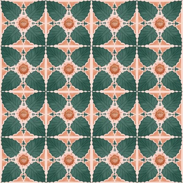 Stoffe/Floral/Hawaiian Breeze Tile Bild 1