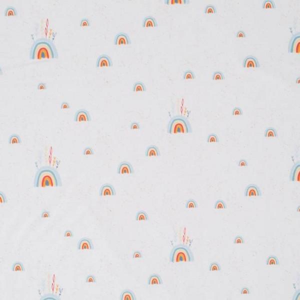 Fabrics/Designers/Tante Gisi/Im Regenbogenland Bild 1