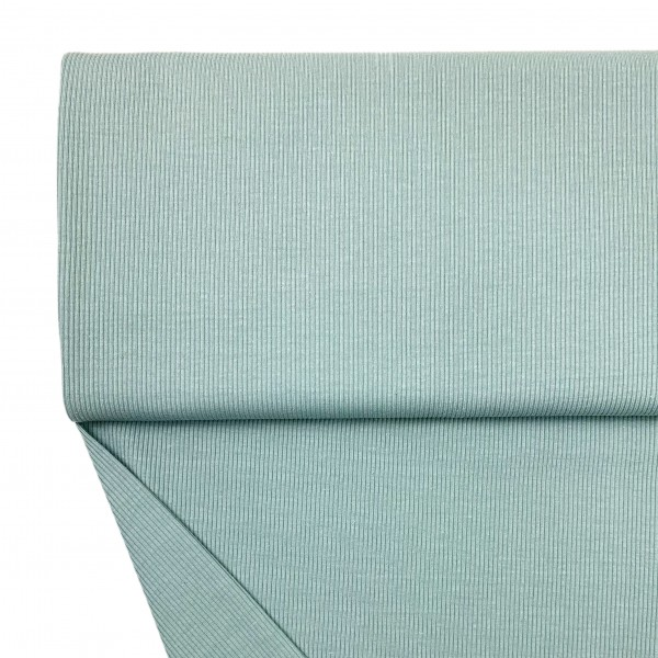 Fabrics/Basics/Solid Rib/Ribjersey, altgrün Bild 1