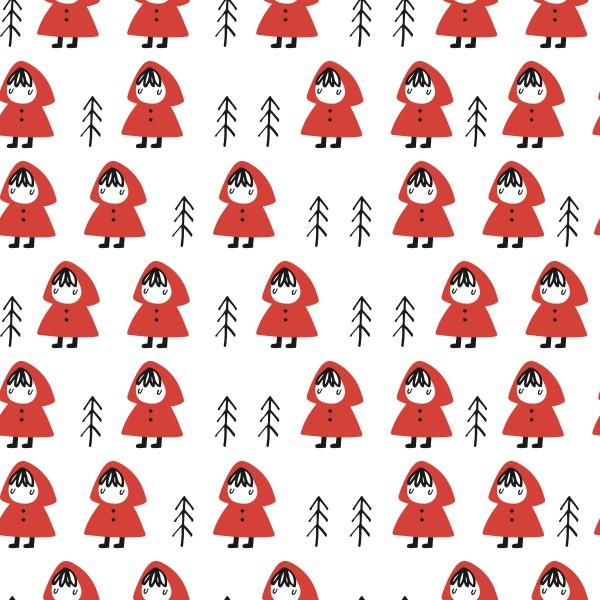 Stoffe/Figuren/Little Red Riding Hood Bild 1