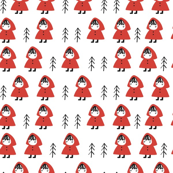 Fabrics/Figures/Little Red Riding Hood Bild 1