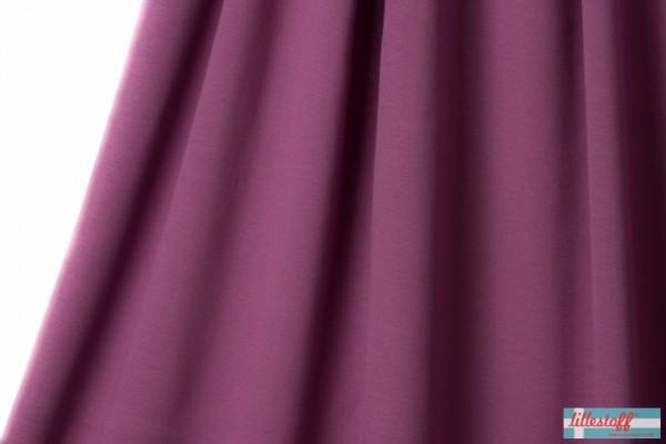 Fabrics/Basics/Solid Jacquard/Uni Jacquard, beere Bild 1