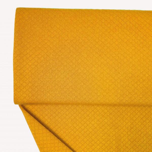 Stoffe/Basics/Stepper Uni/Leichter Baumwollstepper, maisgelb Bild 1