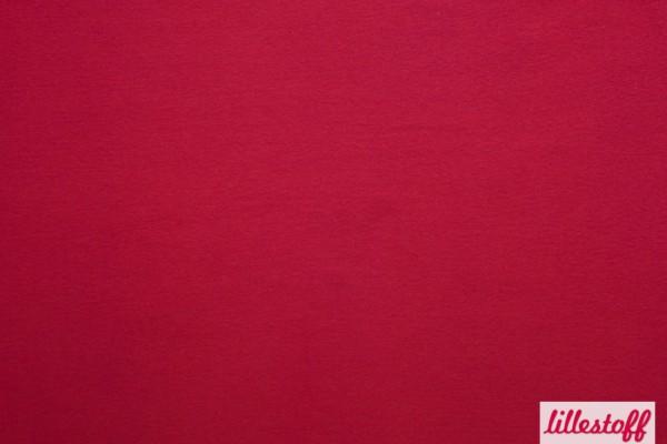 Fabrics/Basics/Solid Cuffs/Bündchen/Ribbing, glatt/smooth, dunkelrot Bild 1