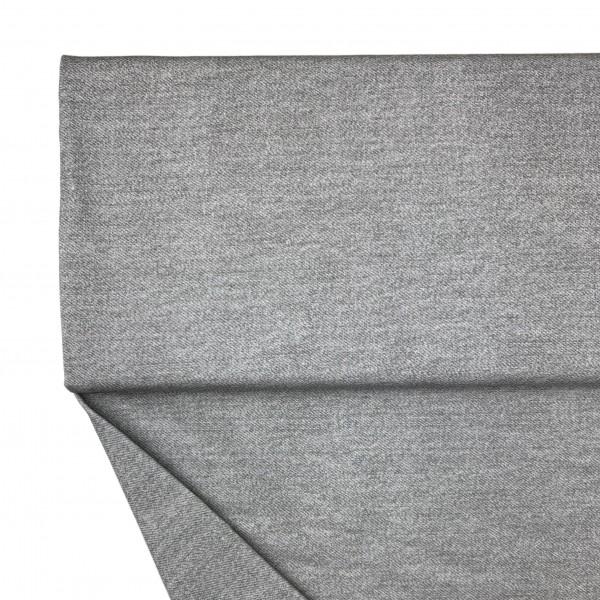Fabrics/Basics/Solid Sweat/Jeansoptik Summersweat, dunkelgrau Bild 1