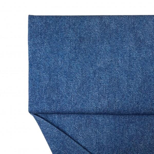 Fabrics/Basics/Solid Sweat/Jeansoptik Summersweat, kobalt Bild 1