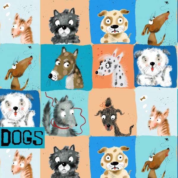 Stoffe/Designer/Tante Gisi/Dogs Bild 1