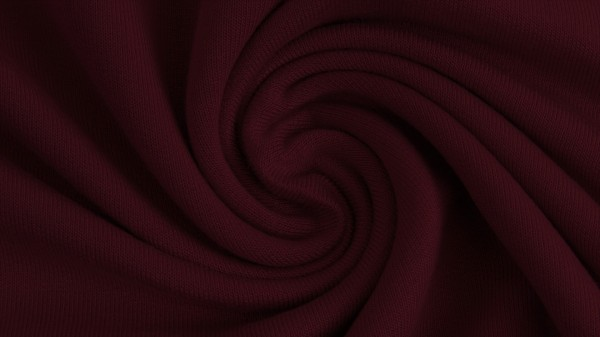 Fabrics/Basics/Solid Modal/Modalsweat, dunkelbordeaux Bild 1