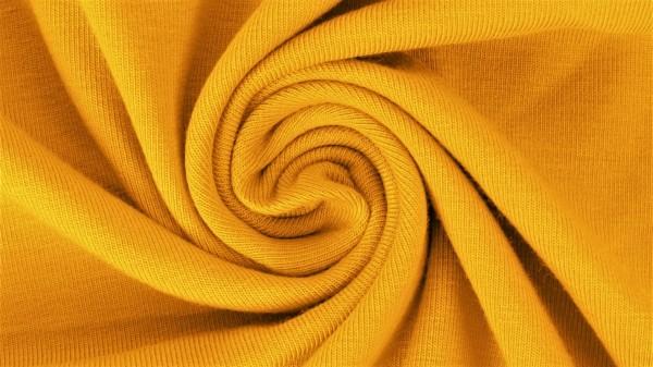 Fabrics/Basics/Solid Jersey/Uni Jersey, ockergelb Bild 1