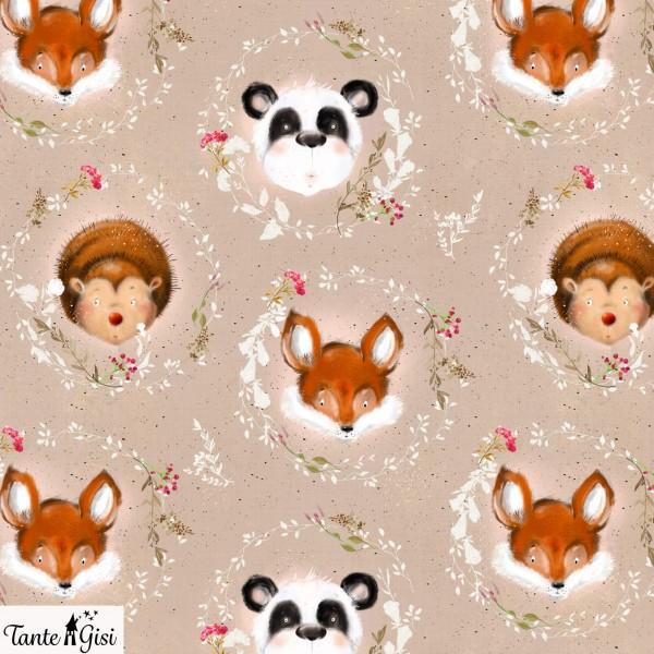 Fabrics/Designers/Tante Gisi/Kleine Tiere Bild 1