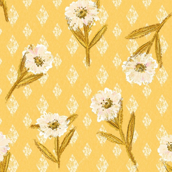 Fabrics/Designers/Enemenemeins/Golden Boho Bild 1