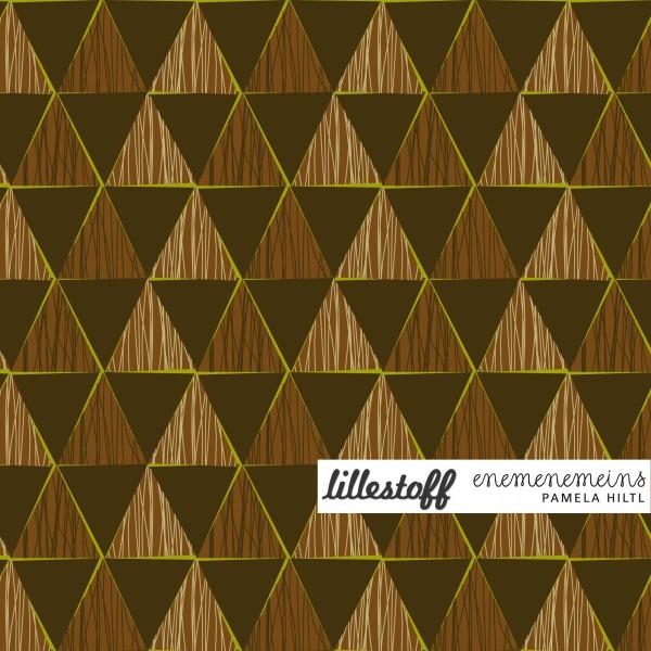 Fabrics/Designers/Enemenemeins/Geometric choc Bild 1