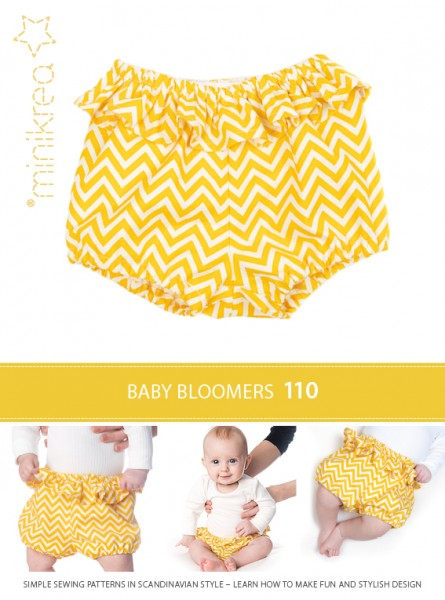 Schnittmuster/MiniKrea/SM110- Anleitung/Instruction Babyhose / Baby Pants Bild 1