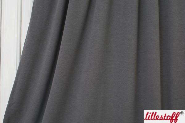 Stoffe/Basics/Jacquard Uni/Jacquard, dark grey Bild 1