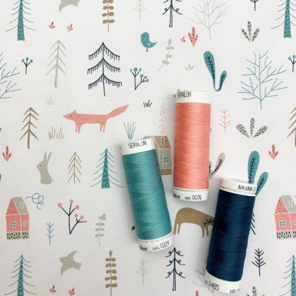 Fabrics/Animals/Lille Woodland Bild 1