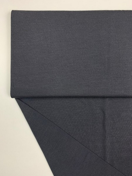 Fabrics/Basics/Solid Modal/Modaljersey, anthrazit Bild 1