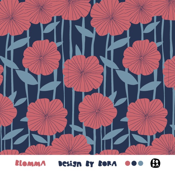 Fabrics/Designers/BORA/Blomma Bild 1