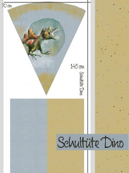 Fabrics/Designers/Tante Gisi/Schultütenset Dino Bild 1