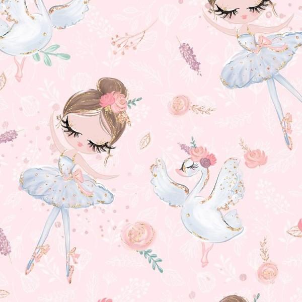 Fabrics/Animals/Ballerina rosé Bild 1