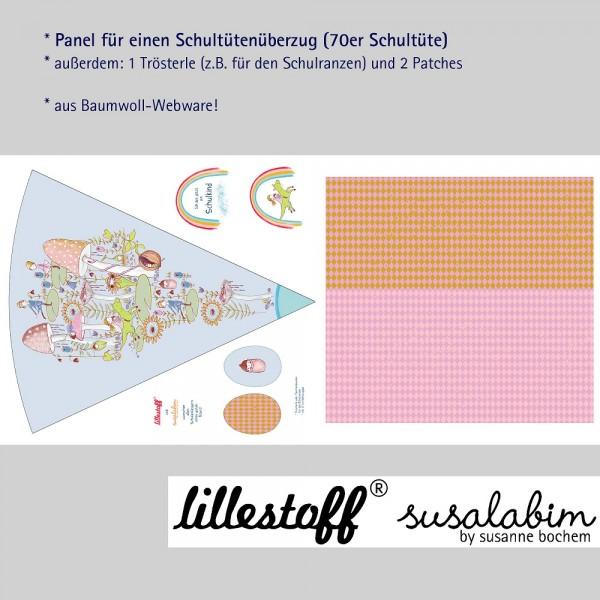Fabrics/Designers/SUSAlabim/Schultütenset Pilzwald Bild 1