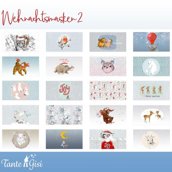 Fabrics/Vehicles/Weihnachtsmasken 2 Bild 1