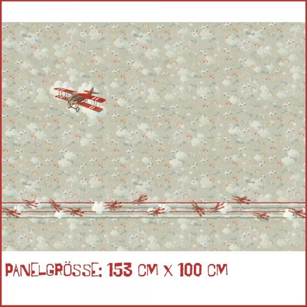 Fabrics/Designers/Tante Gisi/Kleines, Rotes Flugzeug Bild 1