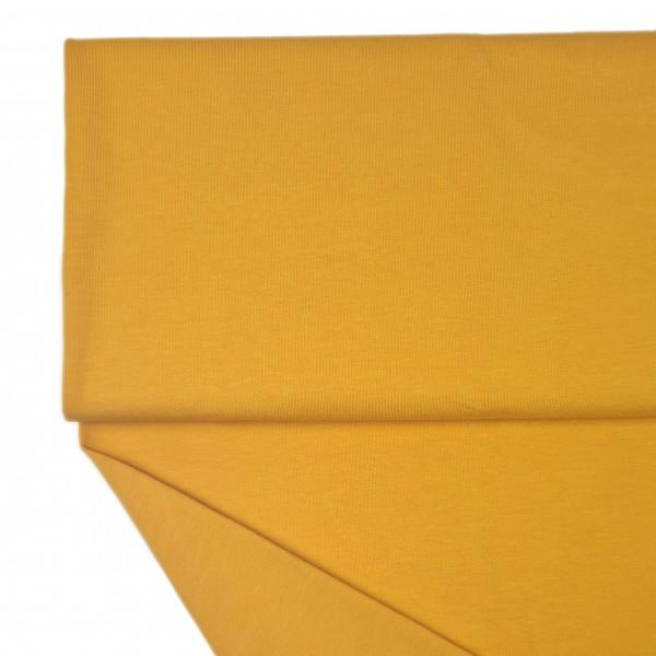 Fabrics/Basics/Solid Sweat/Summersweat, ockergelb Bild 1