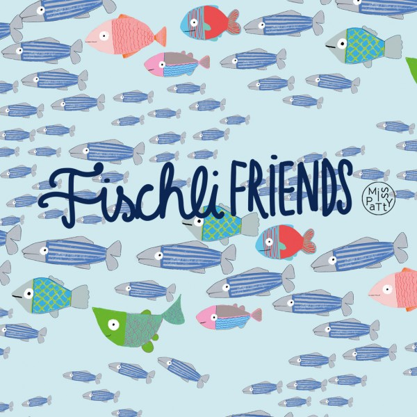 Fabrics/Designers/Miss Patty/Fischli Friends Bild 1