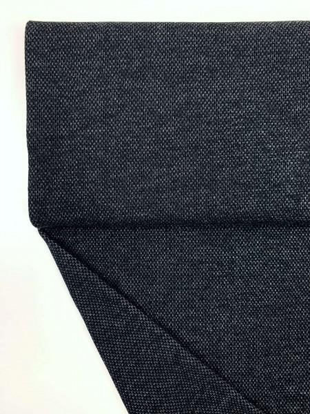 Fabrics/Basics/Solid Jacquard/Jacquardsweat, schwarz Bild 1
