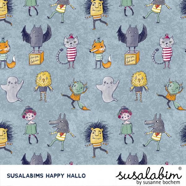 Stoffe/Designer/SUSAlabim/Happy Hallo Bild 1