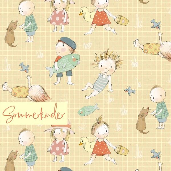 Stoffe/Jahreszeiten und Feiertage/Sommerkinder Bild 1