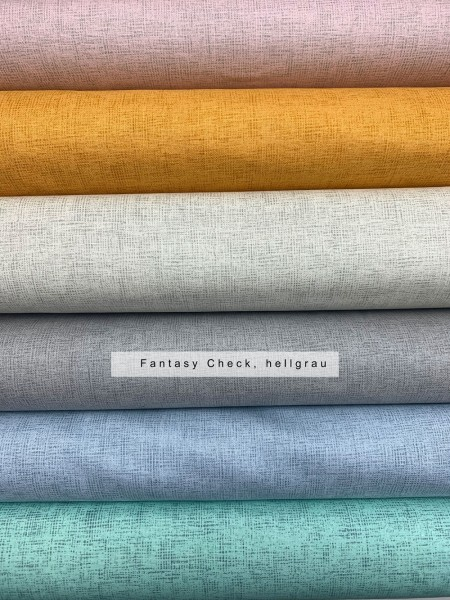 Fabrics/Graphics/Fantasy Check, hellgrau, Webware Bild 1