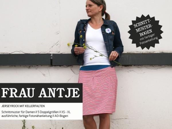 Pattern/STUDIO SCHNITTREIF/Studio Schnittreif - Schnittmuster FrauANTJE Jerseyrock für Damen Bild 1