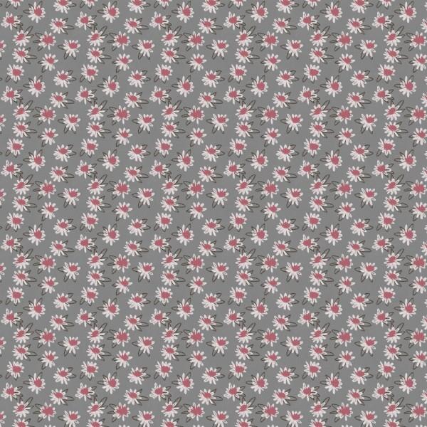 Fabrics/Designers/Enemenemeins/Maries Blumen, frost gray Bild 1