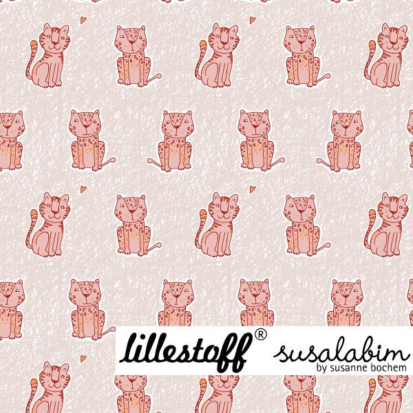Fabrics/Animals/Susalabims Kritzelleo, beige/orange Bild 1
