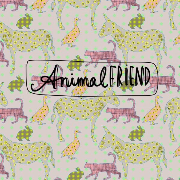 Stoffe/Grafisch/Animalfriend Bild 1