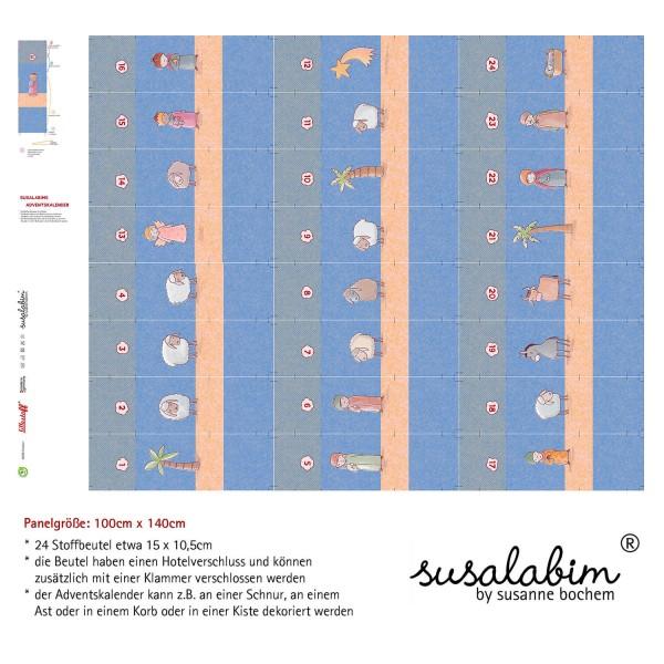 Stoffe/Designer/SUSAlabim/Susalabims Adventskalender Krippenspiel Bild 1