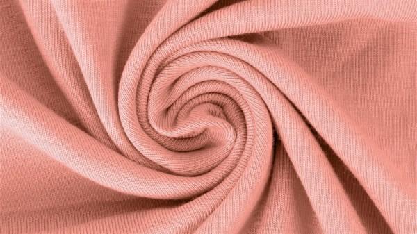 Fabrics/Basics/Solid Jersey/Uni Jersey, altrosé Bild 1