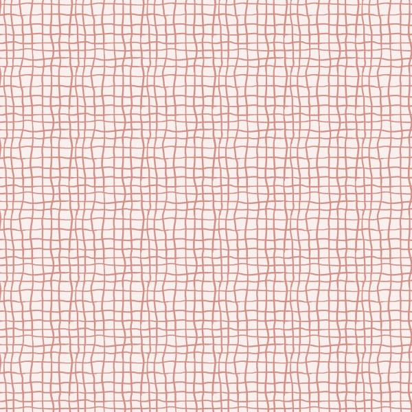 Stoffe/Designer/Enemenemeins/Monstera Grid, canyon clay Bild 1