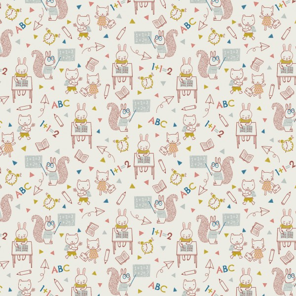 Fabrics/Animals/Back 2 School Bild 1