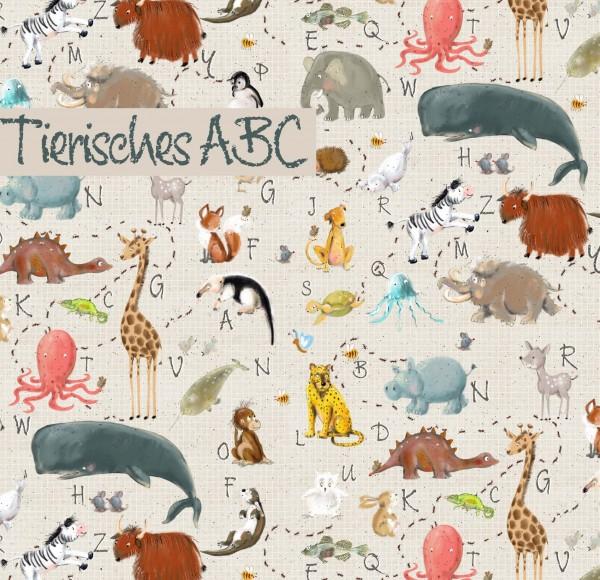 Stoffe/Designer/Tante Gisi/Tierisches ABC Bild 1