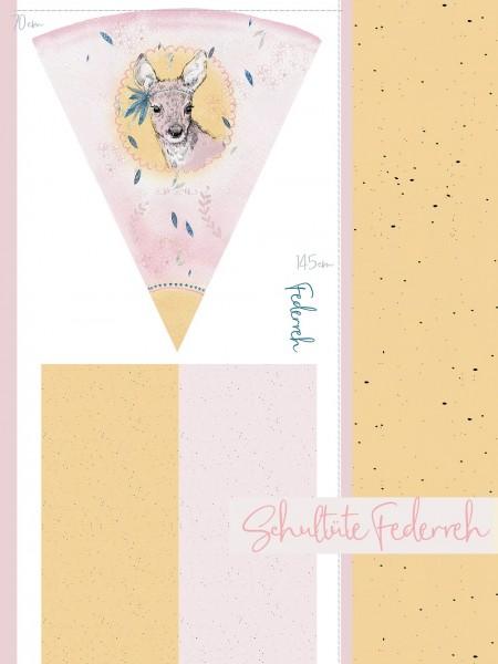 Fabrics/Designers/Tante Gisi/Schultütenset Federreh Bild 1