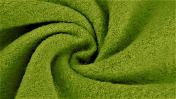 Stoffe/Basics/Walkstoffe/Boiled Wool Uni/Walkloden, lime Bild 1