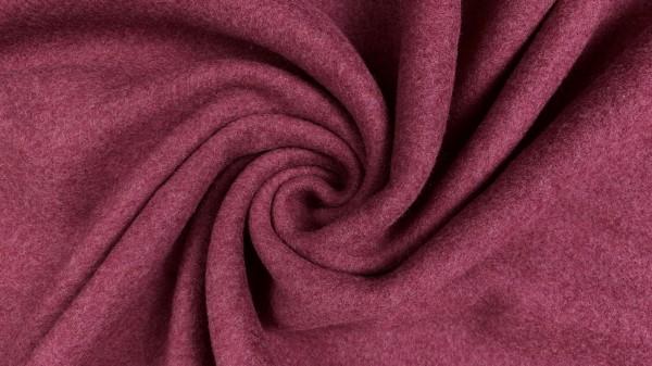 Fabrics/Basics/Solid Double Fleece/Double Fleece, cassis dunkel Bild 1