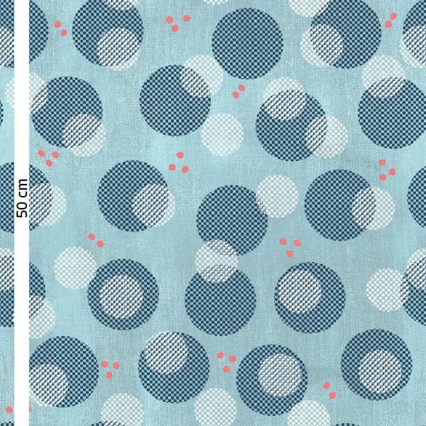 Fabrics/Designers/Enemenemeins/Big Konfetti, blau Bild 1