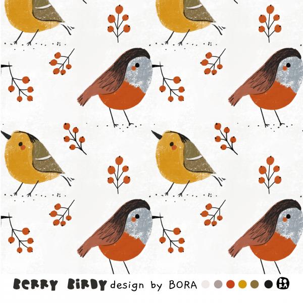 Fabrics/Designers/BORA/Berrybirdy Bild 1
