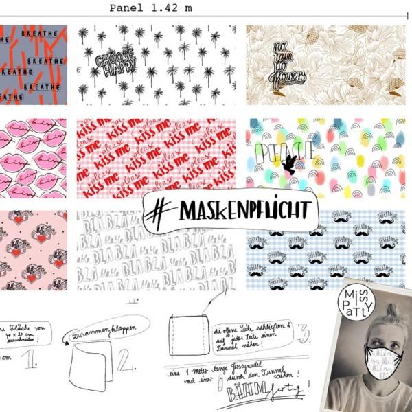 Fabrics/Designers/Miss Patty/Miss Patty Masken Bild 1
