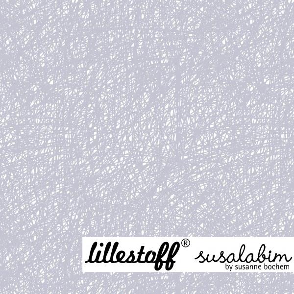 Fabrics/Designers/SUSAlabim/Susalabims Kritzel, graublau Bild 1